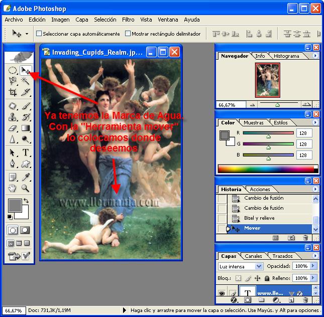 Marca De Agua Con Photoshop CS